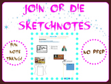 Join or Die SketchNotes