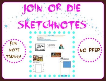 Join or Die SketchNotes