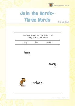 Join the Words (1st Grade)