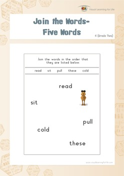 Join the Words (2nd Grade)