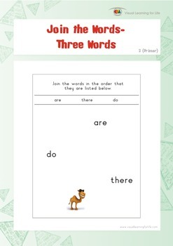 Join the Words (Kindergarten)