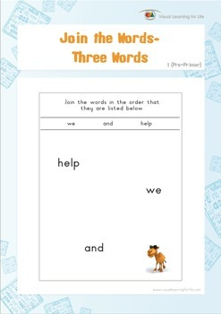 Join the Words (Pre-K)