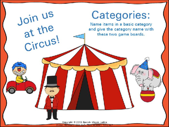 Categories: Join us at the Circus