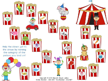Categories: Join us at the Circus for Speech-Language Therapy