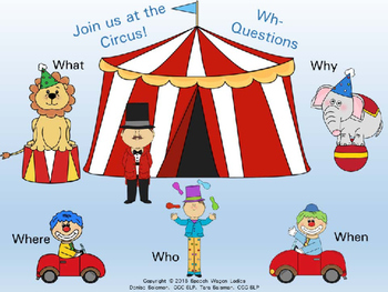 Wh- Questions: Join us at the Circus