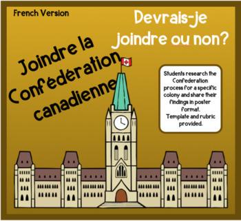 Joindre la Confédération canadienne- Oui ou Non?  - Version française