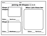 Joining 2D Shapes