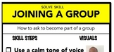 Joining A Group Social Skill Steps Poster - The Empower Pr