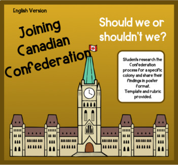 Joining Canadian Confederation - English Version