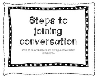 Joining Conversations