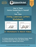 Handwriting Distance Learning - Joining Letters Together -