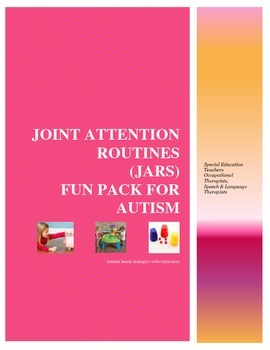 Joint Attention for Autism: Fun Pack