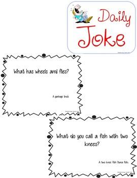 Jokes- A Joke A Day-Printable