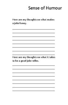 Joke Book Book Report