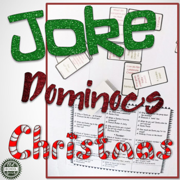Joke Dominoes: Christmas Edition