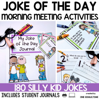 Joke Of The Day (180 Jokes To Share) by One Giggle At A Time