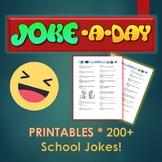 Joke of the Day (200 Year Round Jokes)