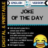 Joke of the Day: 300 Daily Jokes (DIGITAL AND PRINTABLE) E