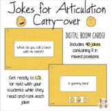 Jokes for Articulation Carry-Over: R mixed positions Digit