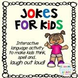Jokes for Kids- a fun interactive language activity!