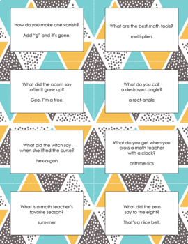 Jokes for a Year Printables
