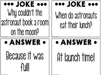 Jokes for the Classroom