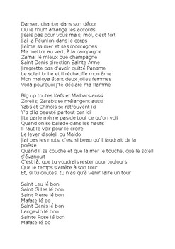 Jolie fleur by Taïro  - a French song