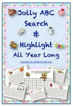 Jolly ABC Search and Highlight All Year Long