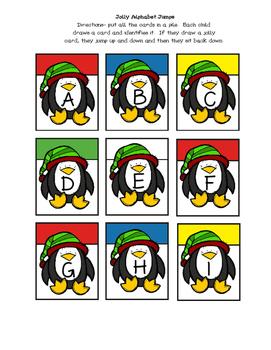 Jolly Alphabet Game