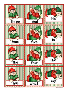 Jolly Elves Know Their Sight Words!