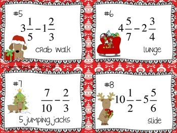 Jolly Fractions: Fractions with All Operations CCSS 5.NF.1, 5.NF.4 & 6.NS.1**