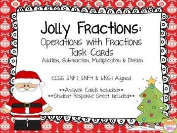 Jolly Fractions: Fractions with All Operations CCSS 5.NF.1