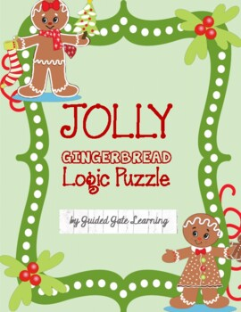 Jolly Gingerbread Logic Puzzle