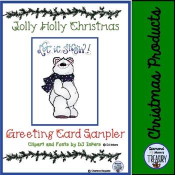 Jolly Holly Days Greeting Cards Sampler