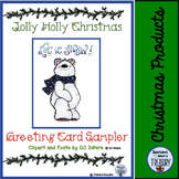 Jolly Holly Days Greeting Cards Sampler