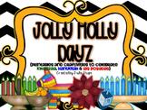 Jolly Holly Dayz {Printables & Craftivities for Kwanzaa, Las Posadas & Hanukkah}