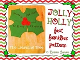 Jolly Holly Fact Family Template