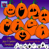 Halloween (Jack-O-Lantern) Pumpkins Clipart