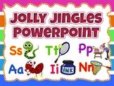 Jolly Jingles Wall decor, Flashcards Powerpoint (Fully Editable)