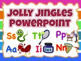 Jolly  Phonics - Jingles Wall decor, Flashcards Powerpoint