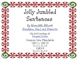 Jolly Jumbled Christmas Sentences {FREEBIE}