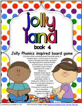 Phonics Land - Phonics Board Game - Group FOUR