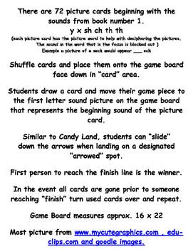 Phonics Land - Phonics Board Game - Group Six