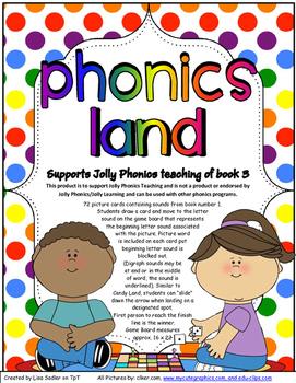 Phonics Land - Phonics Board Game - Group THREE