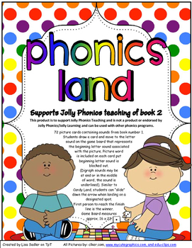 Phonics Land - Phonics Board Game - Group TWO