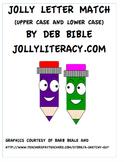Jolly Letter Match (Supplements Jolly Phonics)