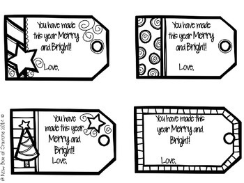 ~*Holiday Gift Tags *~