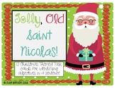 Jolly, Old Saint Nicolas: Christmas-Themed Task cards for