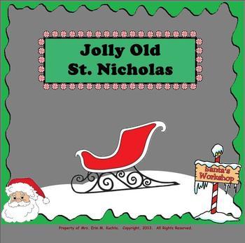 """Jolly Old St. Nicholas - Intro. to New Rhythm """"Ta-a"""""""