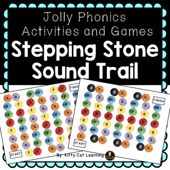 Jolly Phonics Activities and Games - Stepping Stone Sound Trail